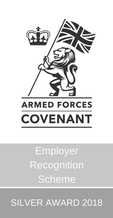 Armed Forces Covenant Silver Award