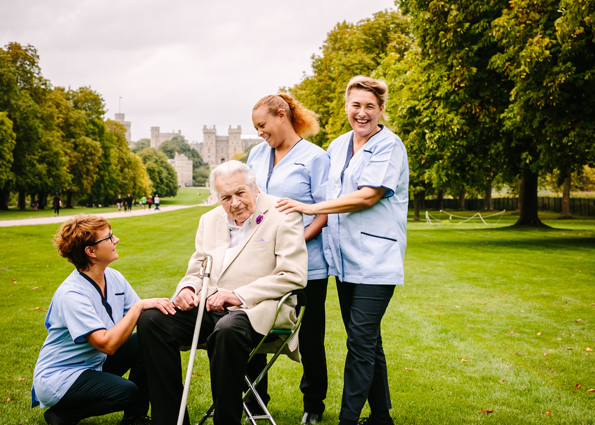 Client Testimonials for home care Ascot & Windsor